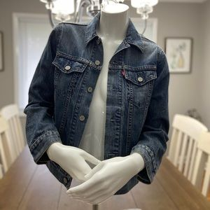 Levi's Women's Denim Jean Jacket Size Medium